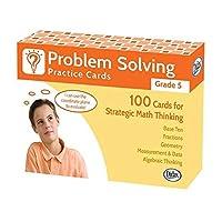 Didax Problem Solving Practice Cards Grade 5 [並行輸入品]