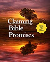 Claiming Bible Promises: Daily Devotional Notebook for Men to Write In When Dealing Family Challenges (Large Print)