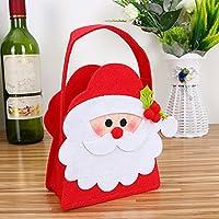 A69Qクリスマス ギフトバッグ キャンディバッグ お菓子バッグ お菓子入れ クリエイティブ 可愛い メリークリスマス クリスマスデコレーション 飾り 装飾小道具 キャンディー収納 クリスマスギフト プレゼント (A)