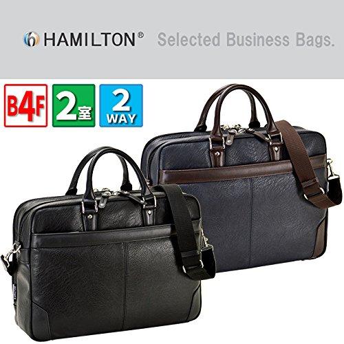 ビジネスバッグ 黒色 メンズ ブリーフケース B4 A4 2...