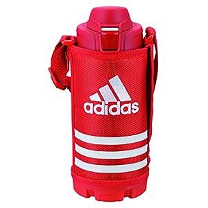 タイガー 水筒 1L 直飲み アディダス レッド ポーチ付き スポーツ ボトル MME-B10X-R Tiger Adidas