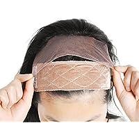 GEXウィッグ固定用 ウィッグバンド 医療用ヘアバンド ウィッグネットと併用 簡単着装 固定力アップ wig grip 柔らかい 高品質 サイズ調整可能 やや厚型 …