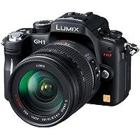 Panasonic デジタル一眼カメラ LUMIX GH1 レンズキット コンフォートブラック DMC-GH1K-K