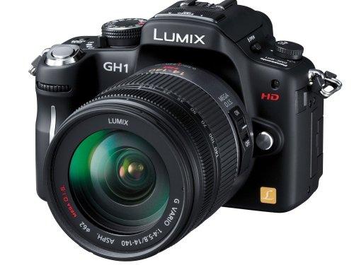 パナソニック デジタル一眼カメラ LUMIX GH1 レンズキット コンフォートブラック DMC-GH1K-K