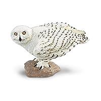 Safari Ltd 264729 Snowy Owl 動物のおもちゃ [並行輸入品]