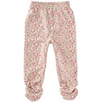 (チャックルベビー) chuckle BABY ピンク 花柄 ストレッチ 長ズボン 70cm 小花柄 P3566-70-11