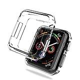 PRODELI Apple Watch Series 4 40mm ケース,Apple Watch 透明 TPU ケース アップルウォッチシリーズ4 保護 カバー クリア ソフトバンパー 脱着簡単 耐衝撃 軽量 薄型 シェル Apple Watch Series4 40mm 対応 (クリア)