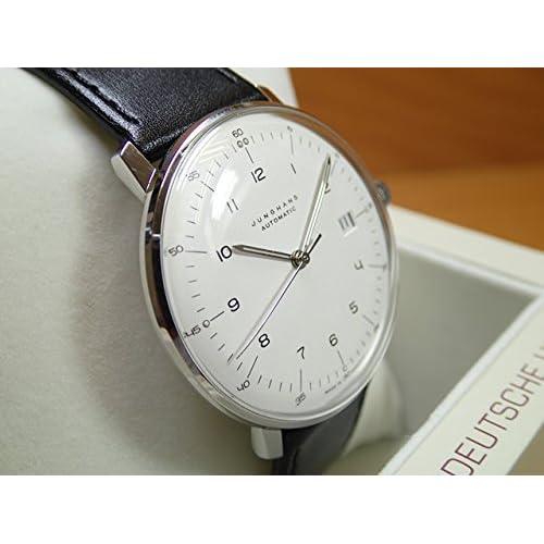 ユンハンス 腕時計 MAX BILL BY JUNGHANS Automatic 38mm マックスビル オートマチック 027 4700 00 正規商品