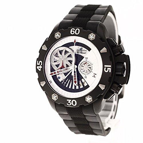 ZENITH(ゼニス) 96.0525.4021 デファイ エクストリーム オープン 腕時計 チタン/ラバー メンズ (中古)