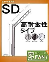 川口技研 腰壁用ホスクリーン上下式 GP-55SD-ST(ステンカラー) 高耐食性仕様 1セット(左右1組)