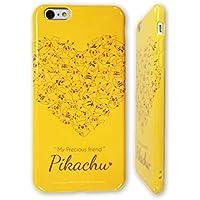 グルマンディーズ ポケットモンスター iPhone6 Plus対応 ソフトジャケット ピカチュウ ハート POKE-524A