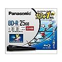 パナソニック 4倍速ブルーレイディスク(追記)25GB10枚 50GB1枚P LM-BR25LW11S