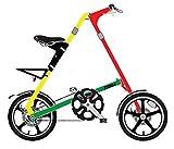 STRiDA(ストライダ) LT 16インチ折り畳み自転車 ラスタカラー