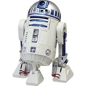 リズム時計 STAR WARS ( スターウォーズ ) R2-D2 音声 ・ アクション 目覚まし キャラクター 時計 白 8ZDA21BZ03
