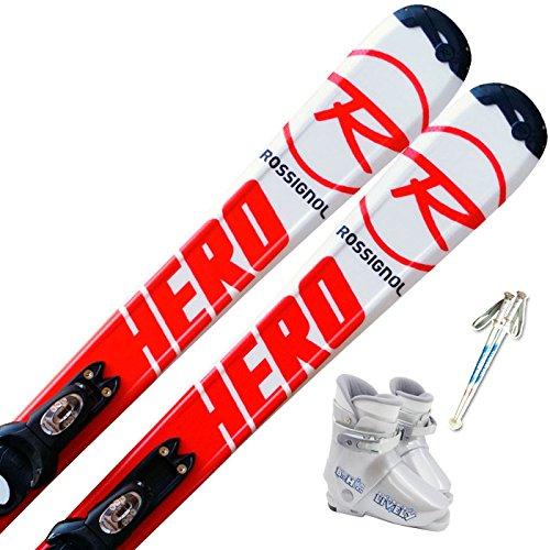 [해외]로시뇰 (ROSSIGNOL) 4 종 세트 주니어 스키 HERO 재고있는 부츠 포함/Rosignol (ROSSIGNOL) 4-piece set with junior ski HERO stock with boots