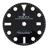 Rolex GMTマスターII 11671027mmブラックメンズダイヤルfor 40MM腕時計