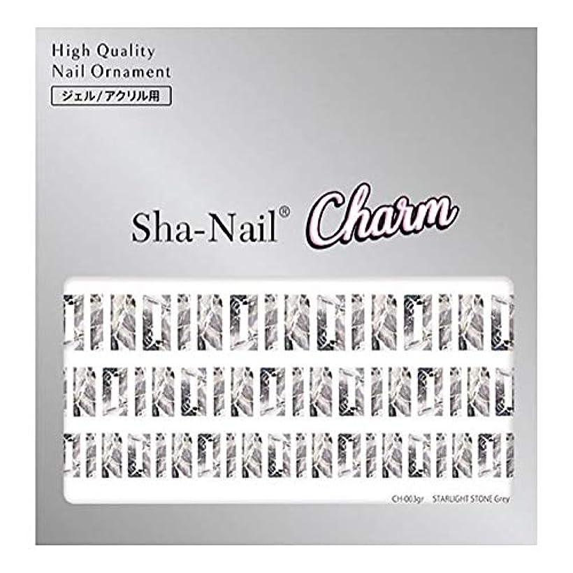複製職人プレミアSha-Nail Charm(シャネイルチャーム) Sha-Nail Charm スターライトストーン グレー 1枚