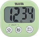タニタ タイマー 大画面 100分 グリーン TD-384 GR でか見えタイマー