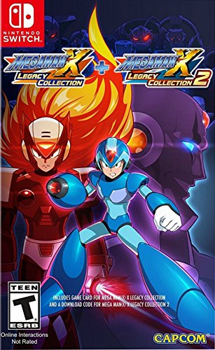Entertainment(World) Mega Man X: Legacy Collection 1 + 2 (輸入版:北米) - Switch