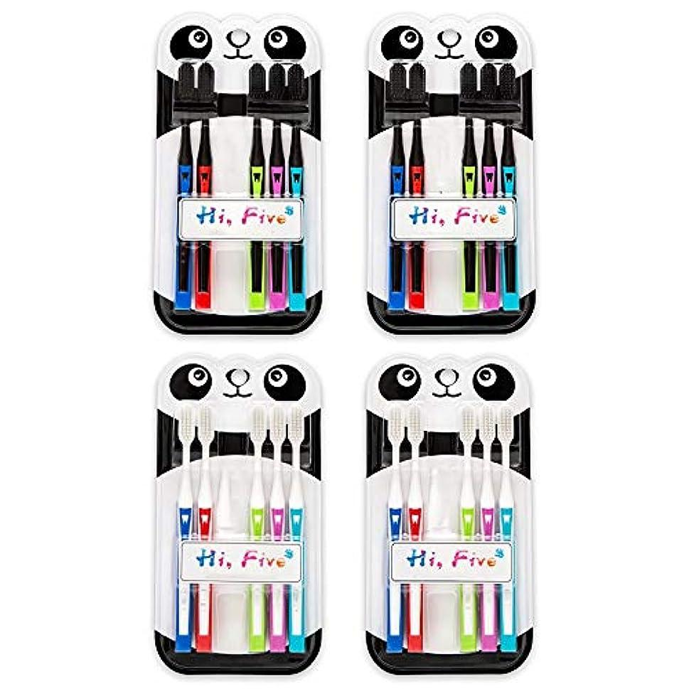 ピカリング筋肉のパネル歯ブラシ ナノオーラル歯ブラシ、大人竹炭歯ブラシ、大人のためのソフト歯ブラシ - 2つの数量オプション HL (サイズ : 20 packs)
