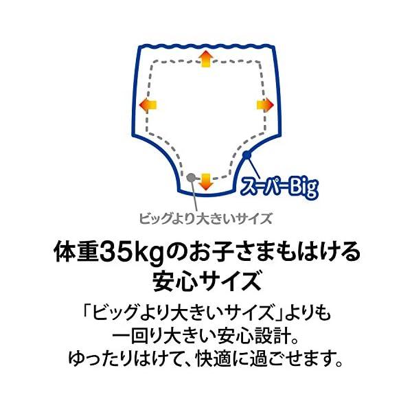 ムーニーマン パンツ スーパービッグ (18~...の紹介画像2