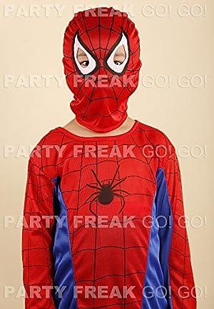 【コスプレ】 パーティーフリークGO!GO! スパイダー スーツ 変身衣装 サイズS 125cm 子供用 c81