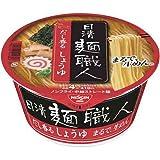 日清食品 日清麺職人 醤油 12個入