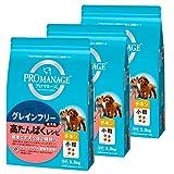 プロマネージ ドッグフード 成犬用 高たんぱくレシピ 小粒 チキン 3.3kg×3個 (ケース販売)