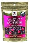 Dr Superfoods Dark Chocolate Coated Organic Raspberries, 125 g