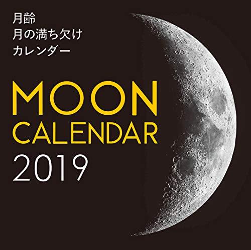 2019年大判カレンダー 月齢 月の満ち欠けカレンダー