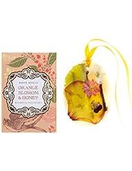ロージーリングス プティボタニカルサシェ オレンジブロッサム&ハニー ROSY RINGS Petite Oval Botanical Wax Sachet Orange Blossom & Honey