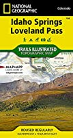 National Geographic Trails Illustrated Map Idaho Springs / Loveland Pass: Colorado