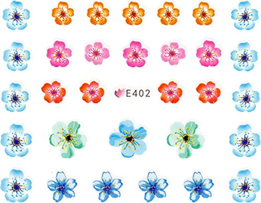 ホールド事実レスリングネイルシール 押し花 フラワー 選べる9種類 (01-T62)