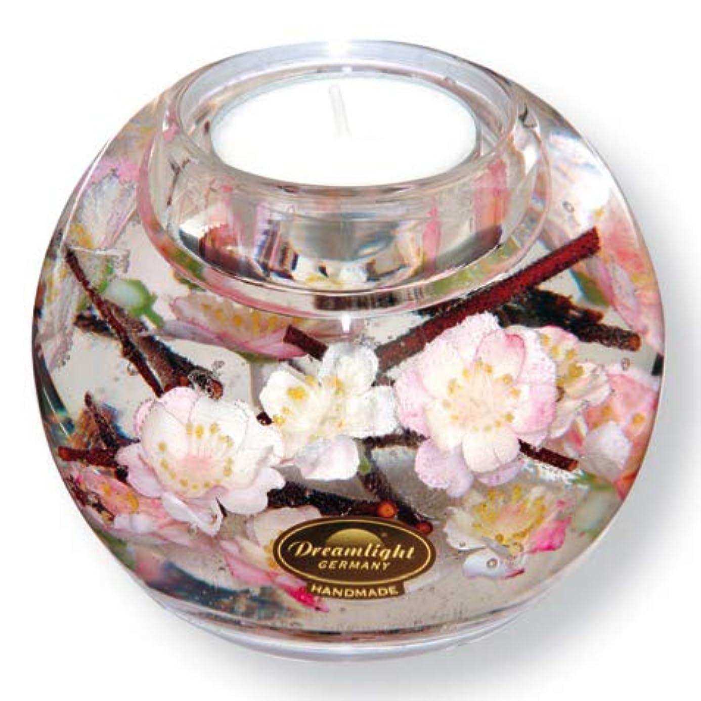 田舎者北米トラフドリームライト マーキュリー サクラ 花 キャンドルホルダー ガラス キャンドルスタンド おしゃれ