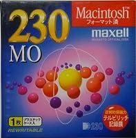maxell 230MB MO Macフォーマット 1枚