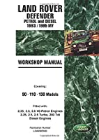 Land Rover Defender Petrol and Diesel 1993/1995 My Workshop Manual: Covering 90 110 130 Models: LDAWMEN93