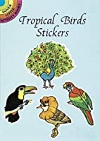 Tropical Birds Stickers (Dover Little Activity Books Stickers)