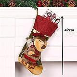 ベル& Sleigh Bells–Christmas Decorations–クリスマスストッキング–クリスマスストッキングClothesサンタソックスクリスマスの新しい年のギフトキャンディギフトバッグforキッズ–クリスマスギフト 600153677182