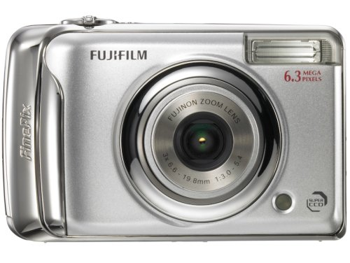 FUJIFILM デジタルカメラ FinePix (ファインピックス) A610 シルバー FX-A610