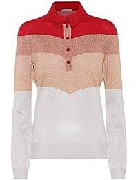 (ボッテガ ヴェネタ) Bottega Veneta レディース トップス ニット?セーター Striped metallic wool-blend sweater [並行輸入品]
