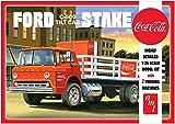 AMT 1/25 フォード C-600 ステイクベッドトラック w/コカ・コーラマシン プラモデル AMT1147