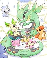 Notebook: Cute Drawing Photo Art Pokemon Pikachi Satoshi Soft Glossy Wide Ruled Journal Notebook with Ruled Lined Paper for Taking Notes Writing Workbook for Teens and Children Students School Kids 7.5x9.25 Inches 110 Pages