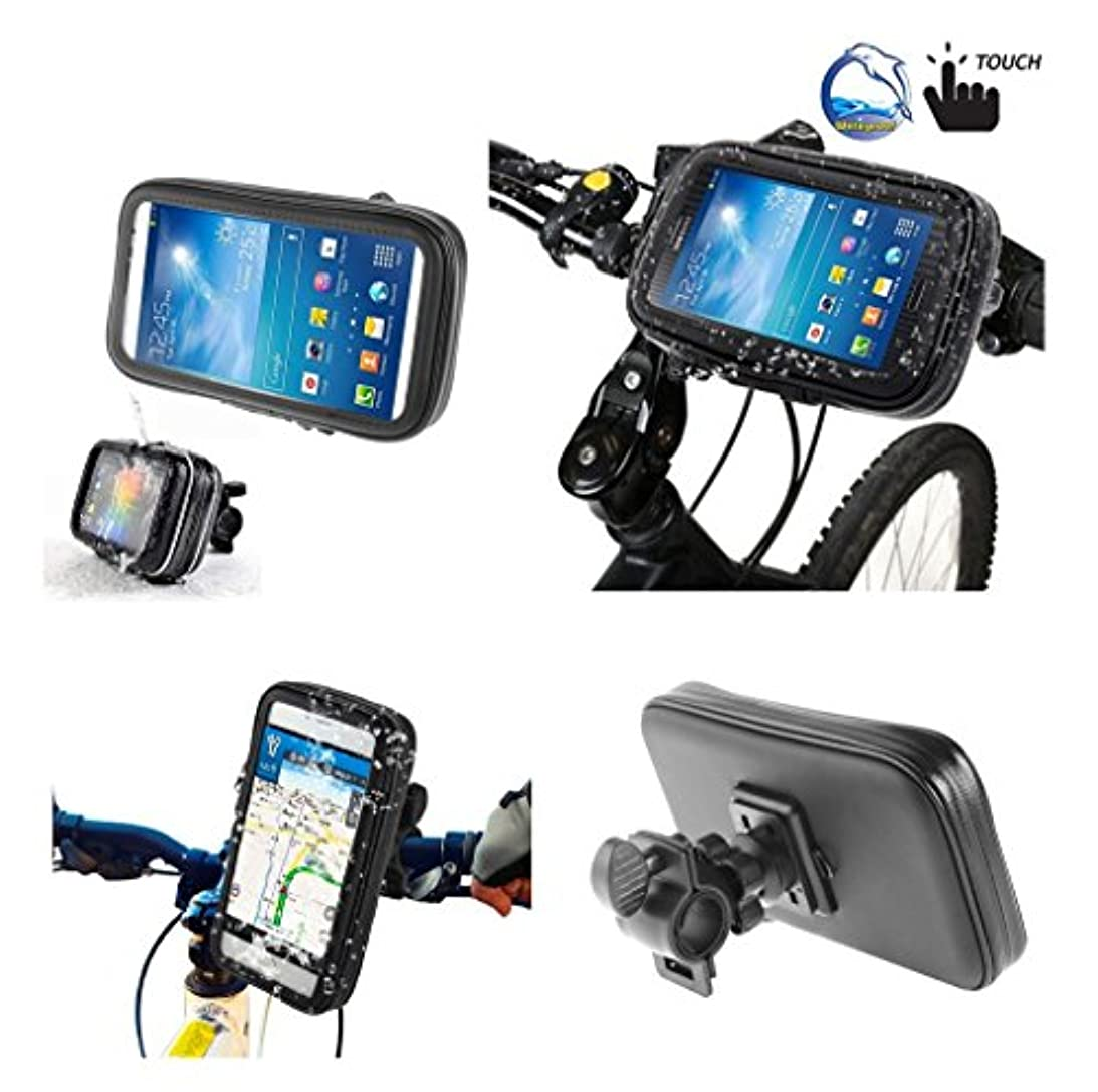 ためらう採用一貫性のないDFV mobile - Professional Support for Bicycle Handlebar and Rotatable Waterproof Motorcycle 360? for => PRESTIGIO MULTIPHONE 5000 DUO > Black