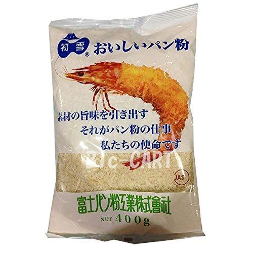 おいしいパン粉 初雪 400g /富士パン粉(6袋)