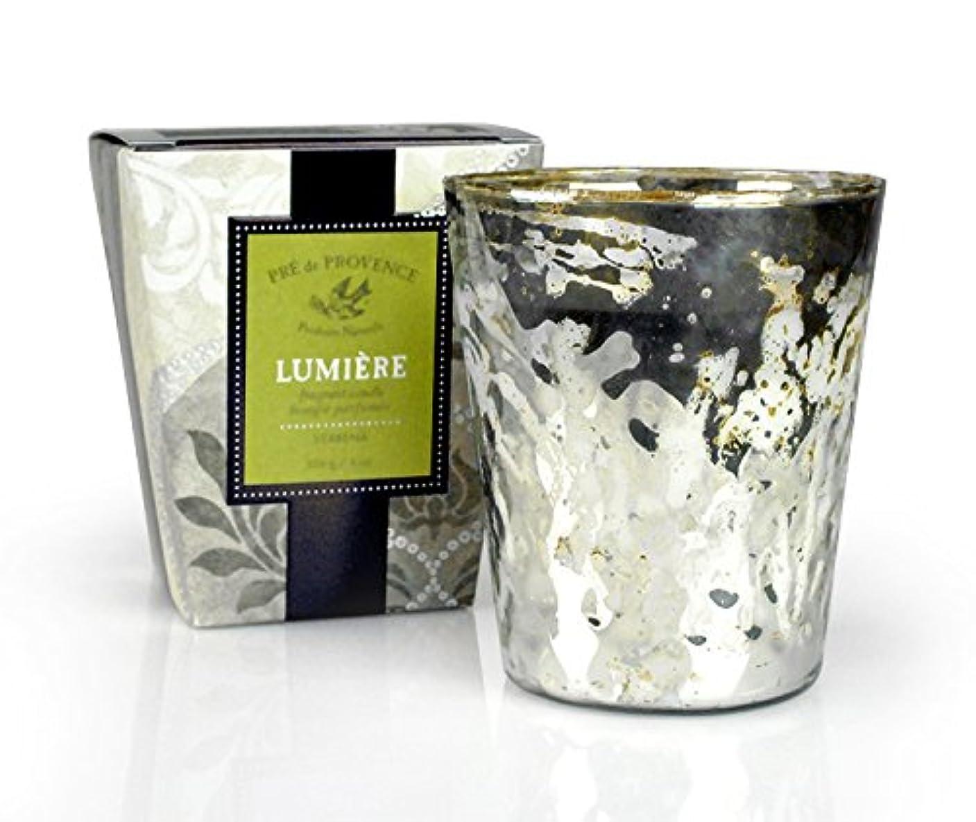 例肌ヘクタールPRE de PROVENCE ルミエール フレグラントキャンドル バーベナ VERBENA プレ ドゥ プロヴァンス Lumiere Fragrant Candle Collection