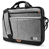 tomtoc 15.6 Inch Laptop Shoulder Bag with 360º Protective Laptop Compartment Multifunctional Messenger Bag Briefcase Fit for 13-15.6 Inch HP Dell Acer Lenovo Asus Samsung Notebook Tablet, New Release