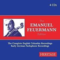 Emanuel Feuermann Edition by EMANUEL FEUERMANN (2013-12-10)