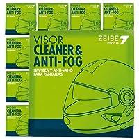 在庫販売 ZEIBE CLEANER&ANTI-FOG セイべ シートタイプ曇り止め ゴーグルやサングラス、ヘルメットバイザーなどに! 8シートセット