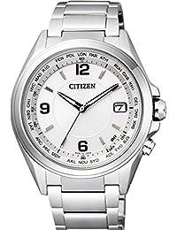 [シチズン]CITIZEN 腕時計 ATTESA アテッサ エコ・ドライブ 電波時計 日中米欧電波受信 CB1070-56B メンズ
