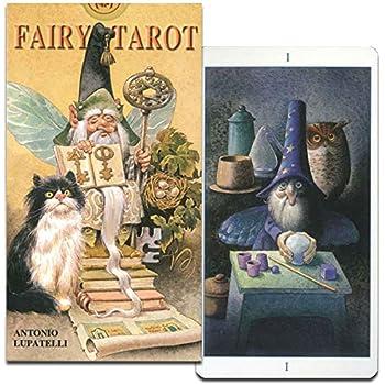 【かわいい!ファンタジー系タロットカード】フェアリー・タロット